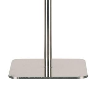 Pied de lampe base carrée