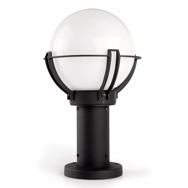 borne d 39 clairage forme globe luminaire ext rieur sur lampe avenue. Black Bedroom Furniture Sets. Home Design Ideas