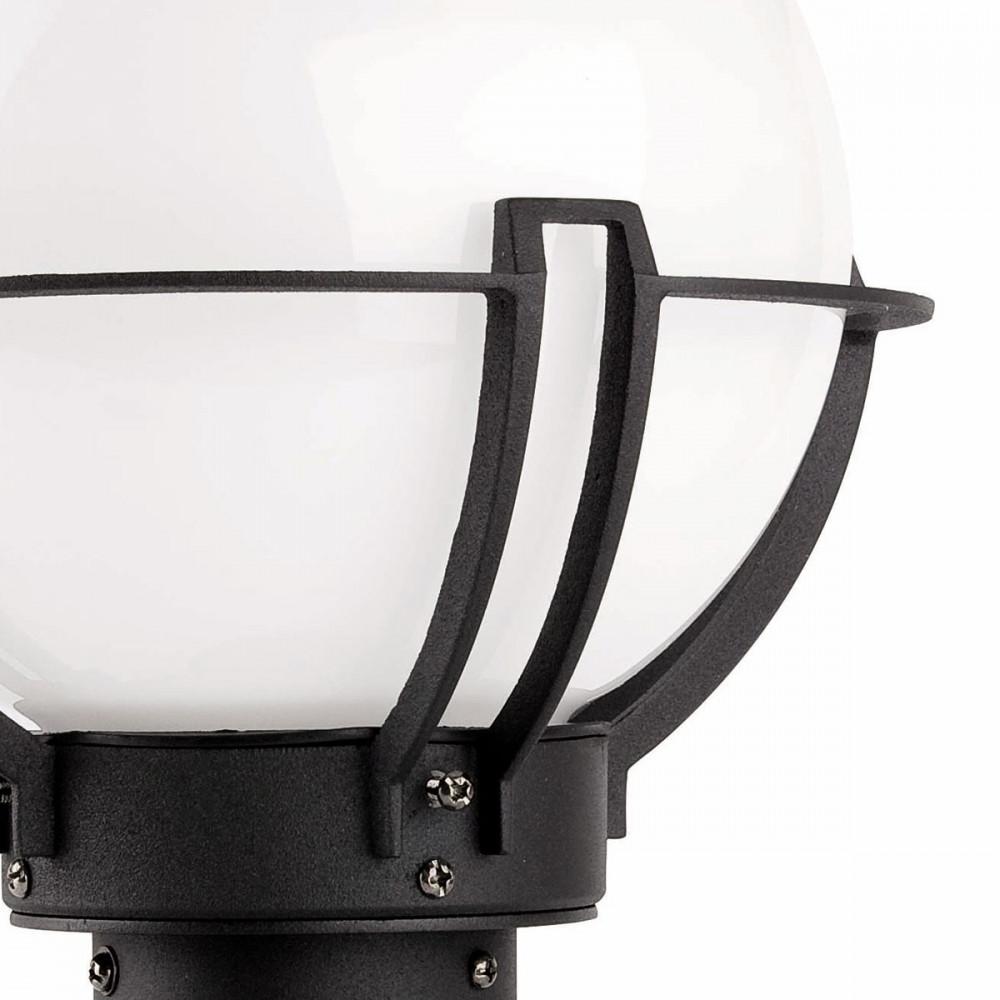 Borne d 39 clairage forme globe luminaire ext rieur sur for Eclairage exterieur jardin globe
