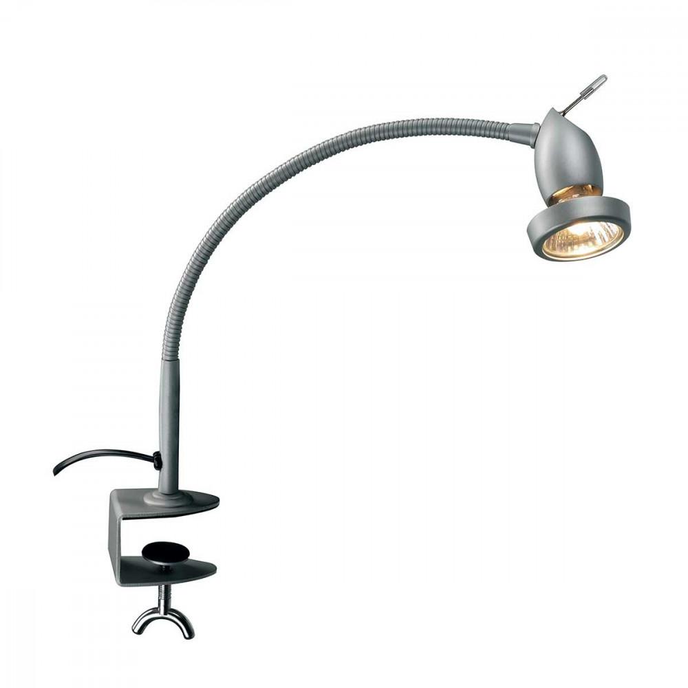Spot flexible avec serre joint et prise id ale pour une - Lampe suspendue avec prise murale ...