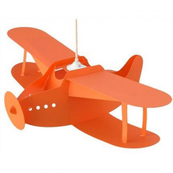 Suspension enfant biplan orange