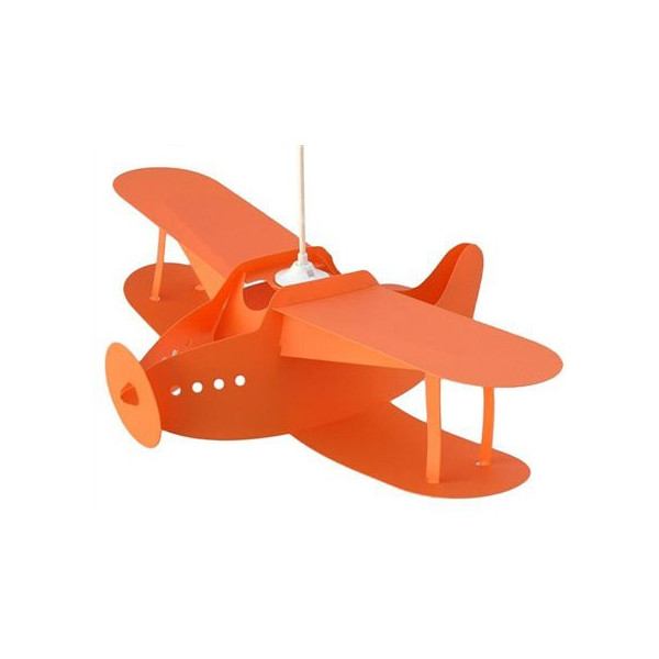 Suspension enfant biplan orange