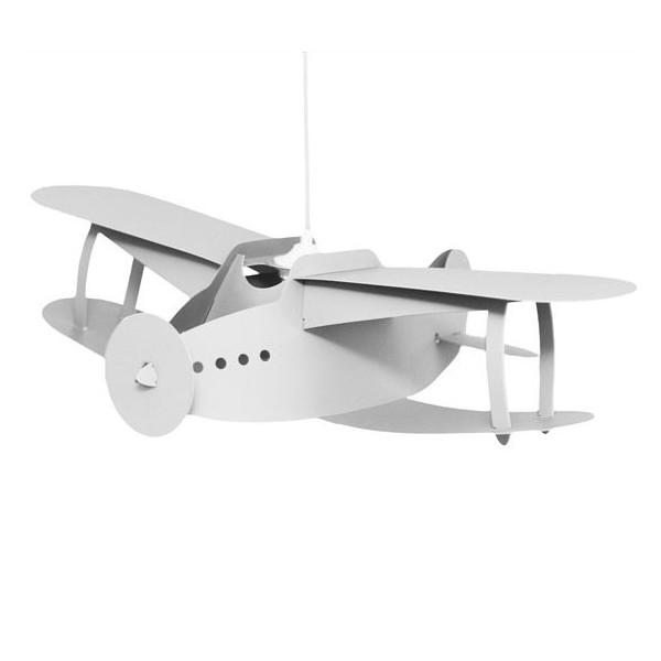 Suspension enfant blanche avion