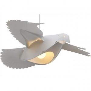 Suspension colombe blanche