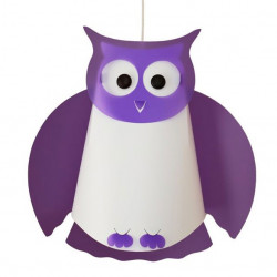Suspension violette hibou
