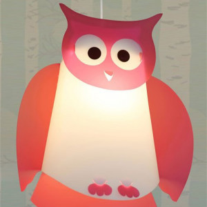 Suspension hibou enfant