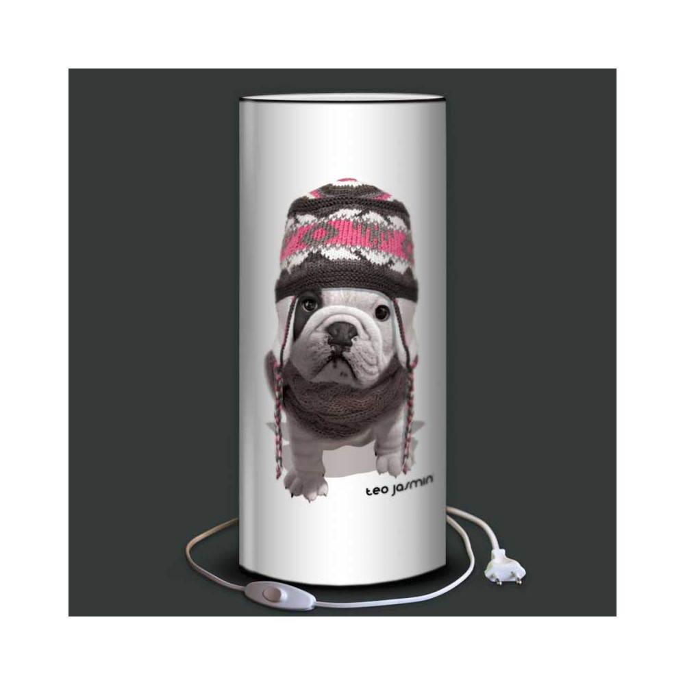 Lampe d co chien avoriaz t o jasmin plage des demoiselles for Lampe de chevet london