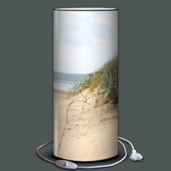 Lampe décor dune plage et mer