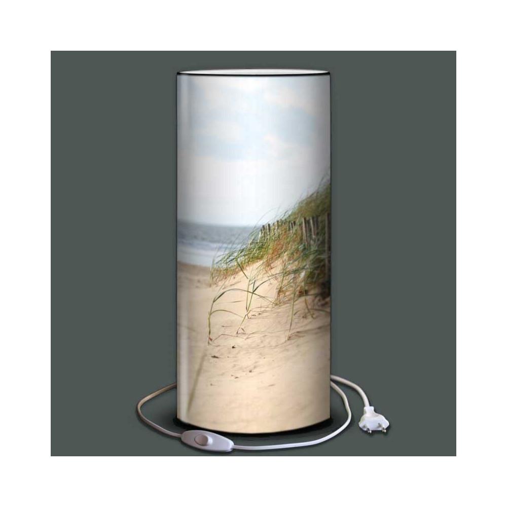 Lampe d cor dune plage et mer plage des demoiselles for Lampe bord de mer
