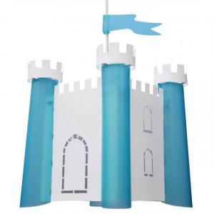 Suspension enfant chateau bleu