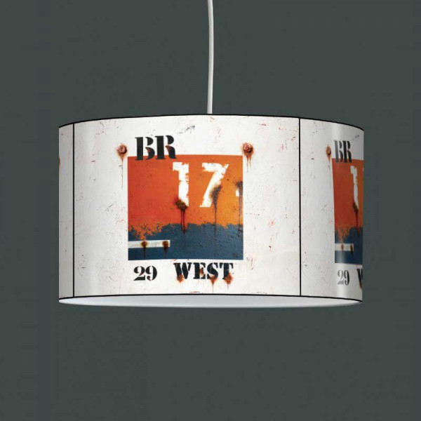 Suspension luminaire West orange