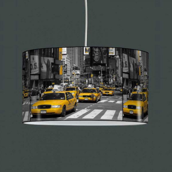 Jaune New Luminaire Suspension Taxi York yIbf6Y7gv