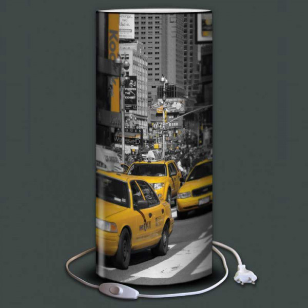 lampe taxi jaune new york 4 tailles disponibles. Black Bedroom Furniture Sets. Home Design Ideas