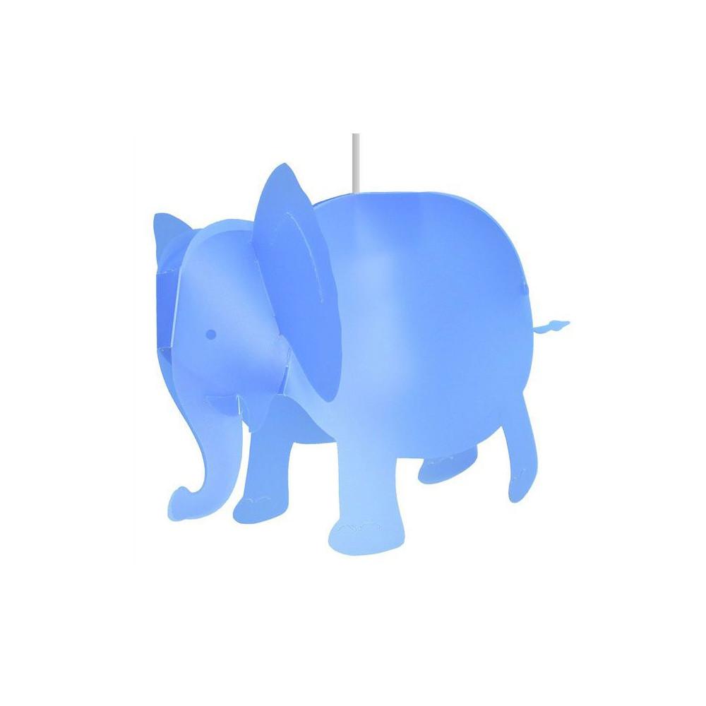 Suspension l phant bleu pour chambre d 39 enfant for Suspension chambre d enfant