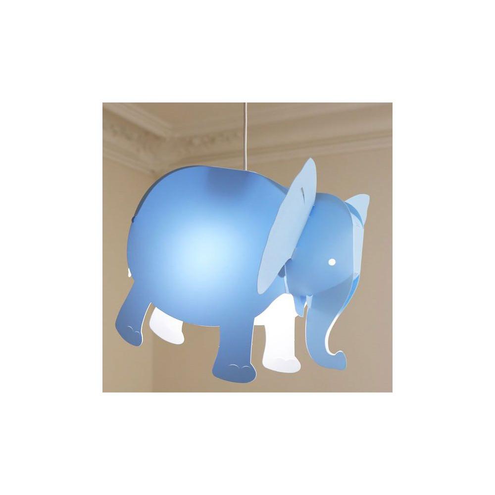Suspension l phant bleu pour chambre d 39 enfant - Suspension chambre d enfant ...