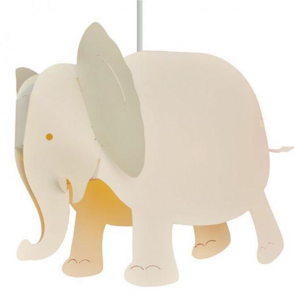 lampe éléphant ivoire