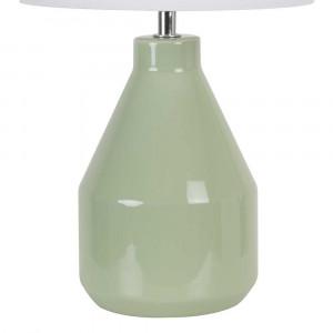lampe verte en céramique