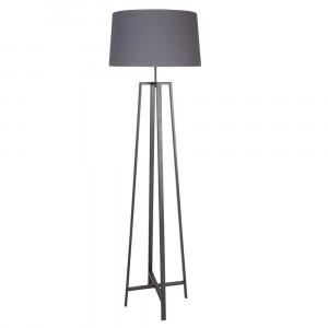 lampadaire gris
