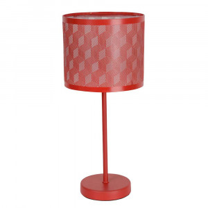 Lampe tactile rouge