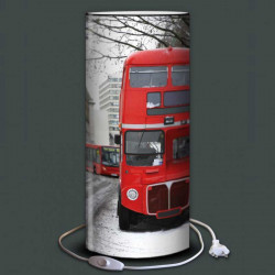 Lampe bus rouge Angleterre