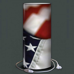 lampe drapeau americain