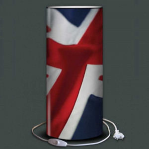 Lampe drapeau anglais