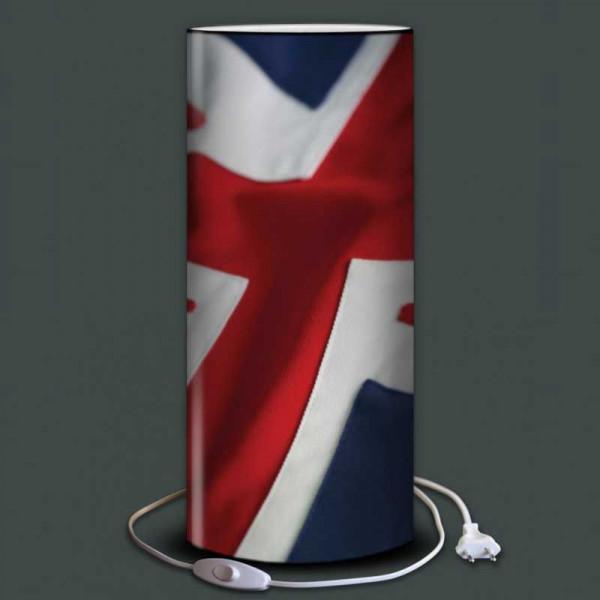 Luminaire drapeau anglais royaume uni for Lampe de chevet anglais