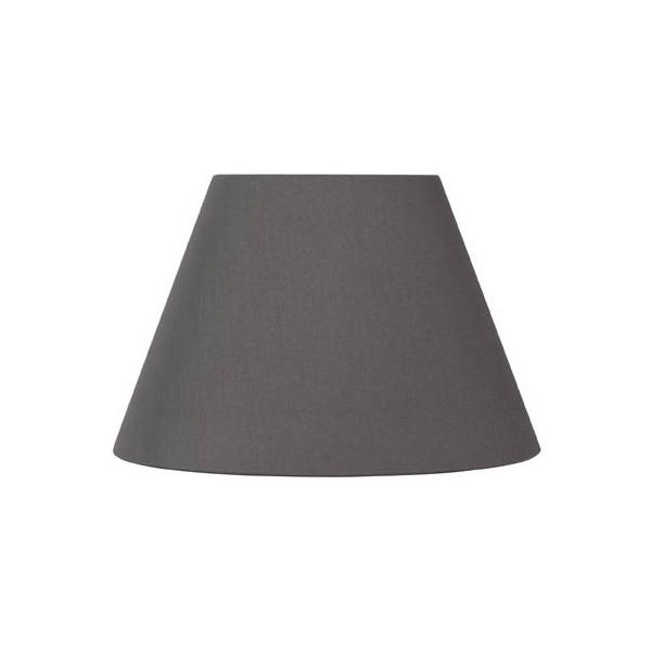 abat jour rond gris poivre abat jour pas cher pour lampe. Black Bedroom Furniture Sets. Home Design Ideas