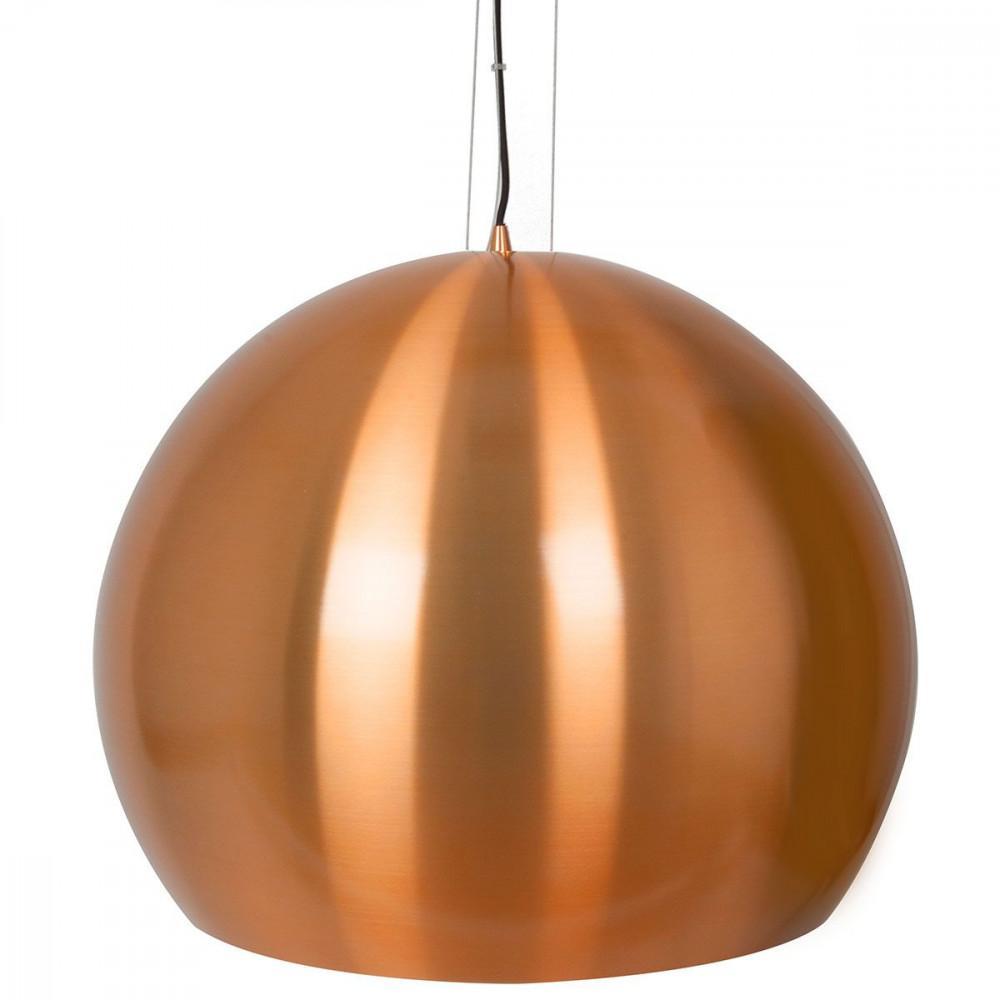 grande suspension boule cuivre pour salon ou salle manger. Black Bedroom Furniture Sets. Home Design Ideas