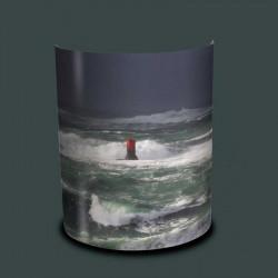 Applique murale tempête en mer