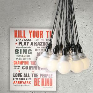 grappe 15 ampoules design