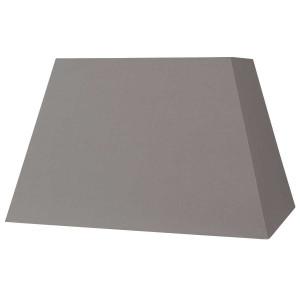 Abat-jour rectangle pyramidal taupe