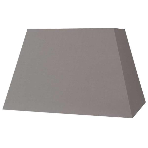 abat jour rectangle pyramidal gris taupe. Black Bedroom Furniture Sets. Home Design Ideas