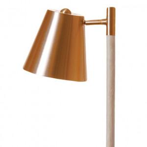 Lampadaire design leitmotiv cuivré
