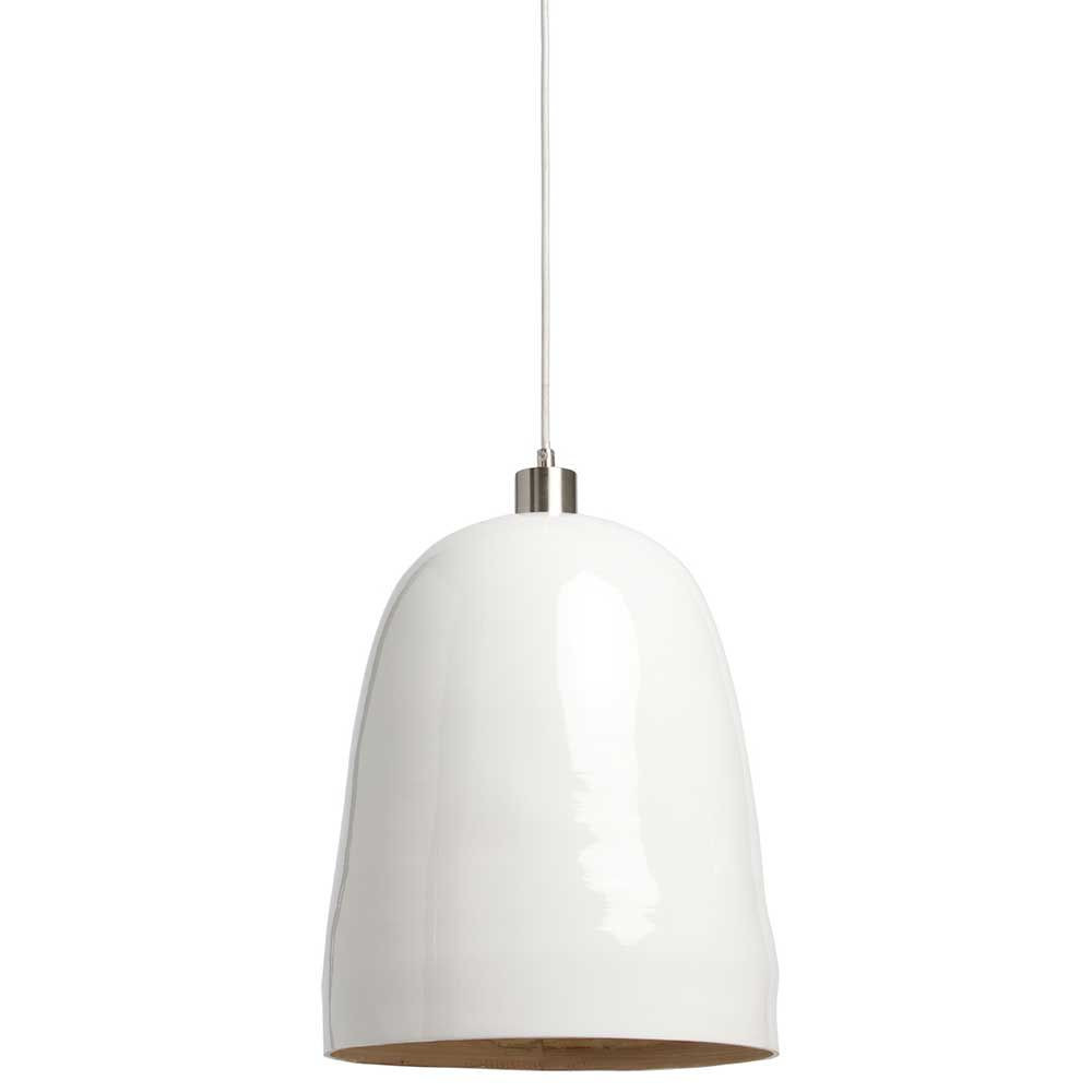 Suspension bambou blanche design for Suspension blanche design