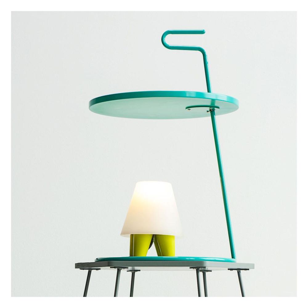 Lampe de chevet vintage - Lampe design blanche ...