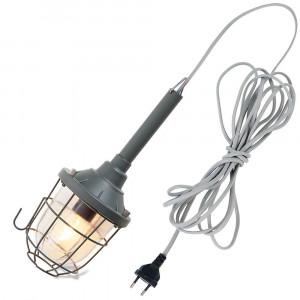 Lampe industrielle gris mat