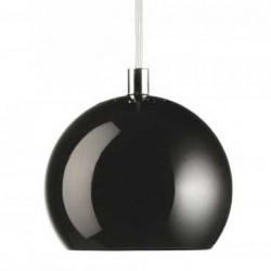 Luminaire frandsen le design nordique lampe avenue for Suspension boule noire