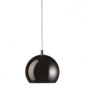 Suspension boule noire