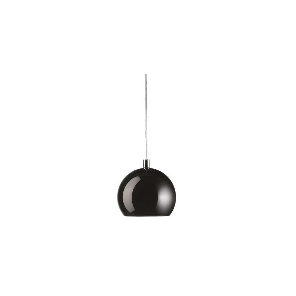 Suspension ball frandsen noir brillant for Suspension boule noire