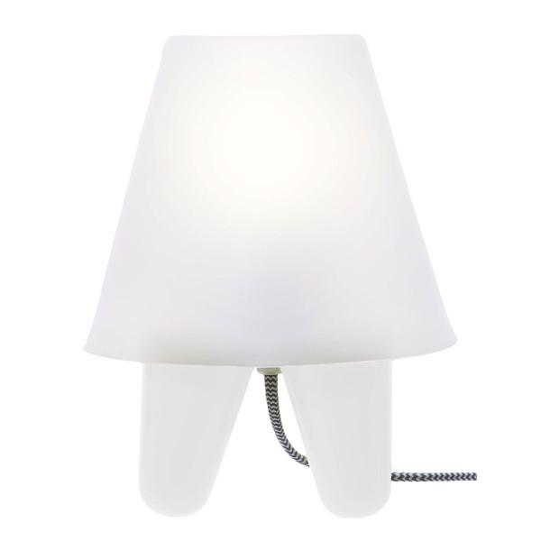lampe design blanche r tro. Black Bedroom Furniture Sets. Home Design Ideas