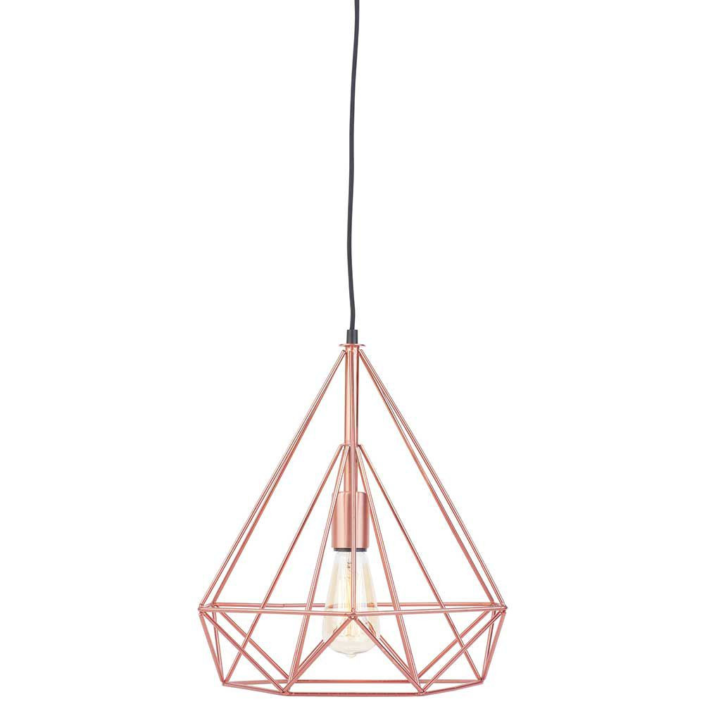 Suspension cuivre design et tendance for Lampe suspension design