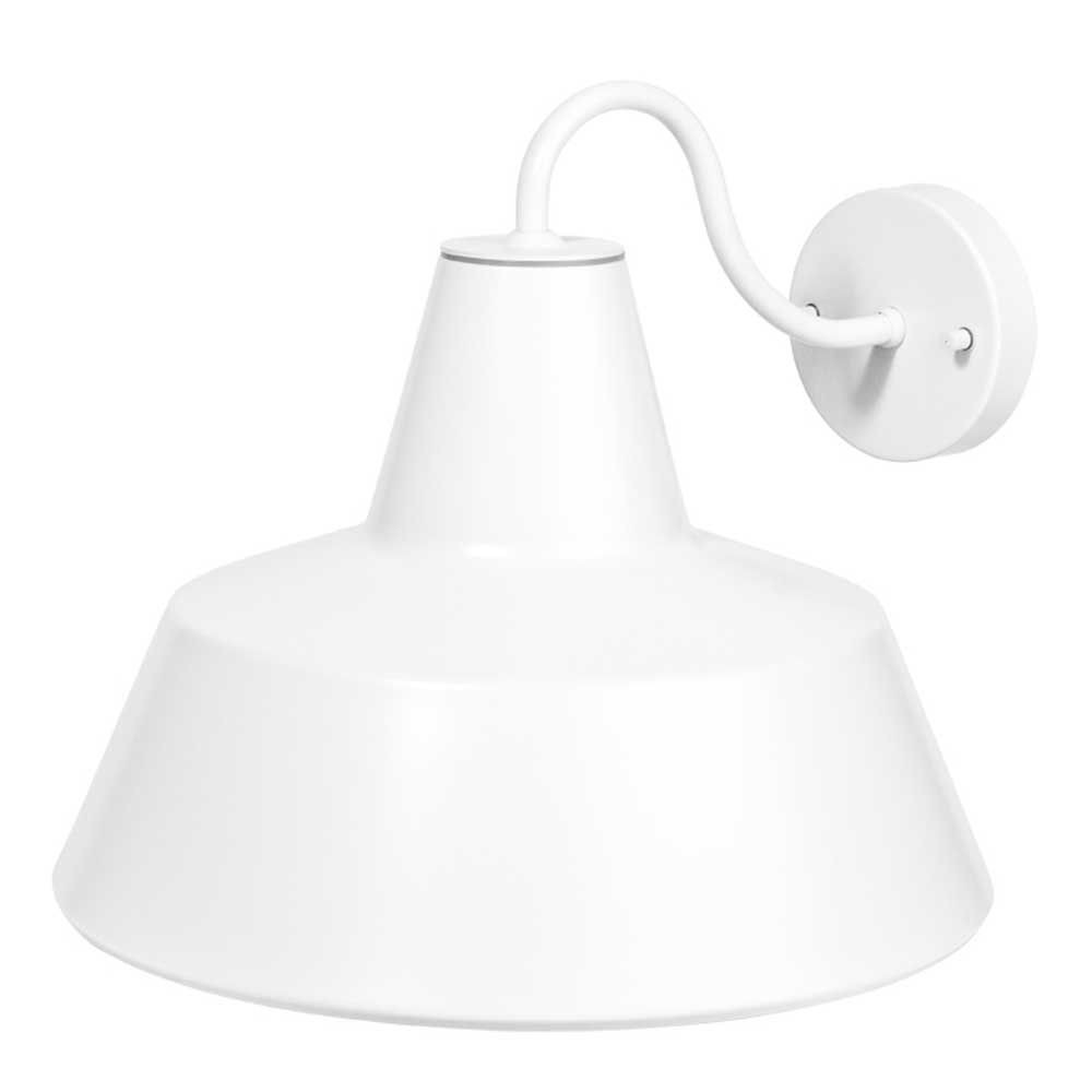 Applique ext rieure d co blanche for Lampe exterieur blanche