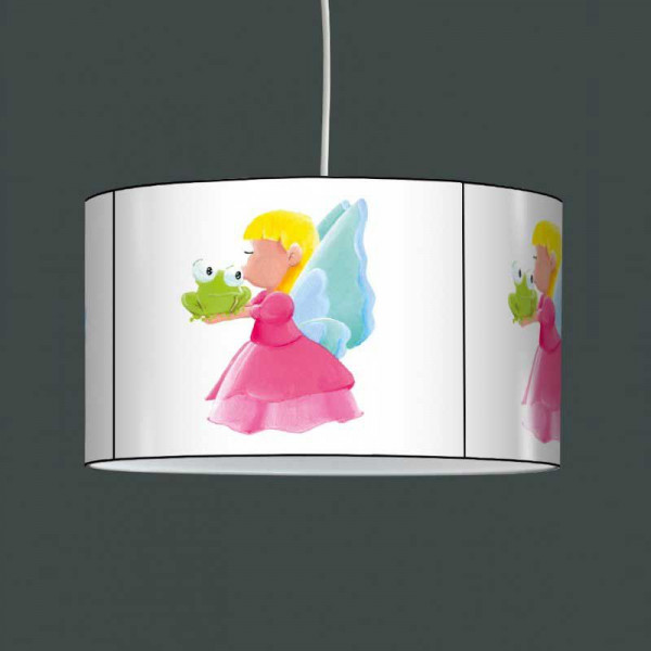 Suspension luminaire fille Princesse