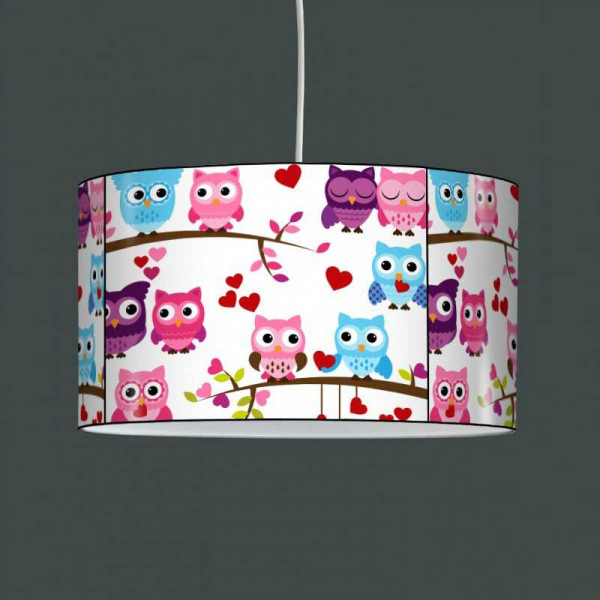 Suspension luminaire enfant hibou - Lampe suspension enfant ...