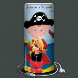 Lampe enfant pirate