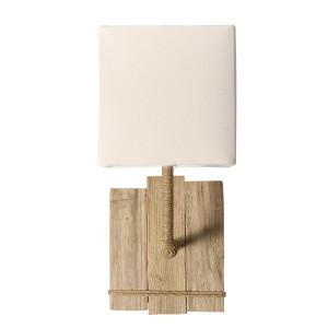 Applique chambre bois et cordage