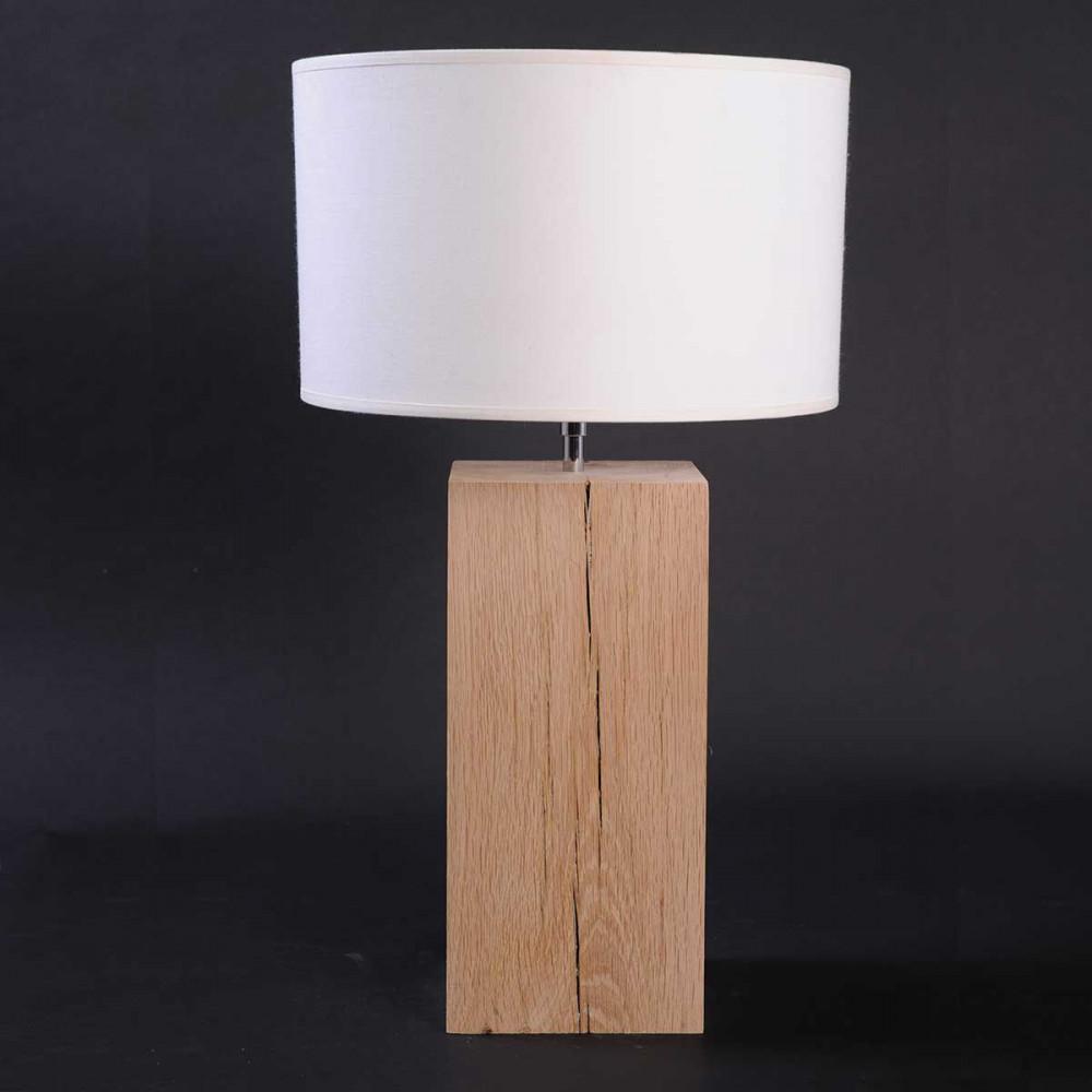 lampe pied bois naturel hoze home. Black Bedroom Furniture Sets. Home Design Ideas