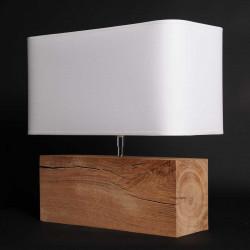 Lampe de salon en bois