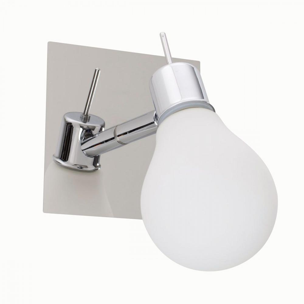 Applique salle de bain double design en forme d'ampoule